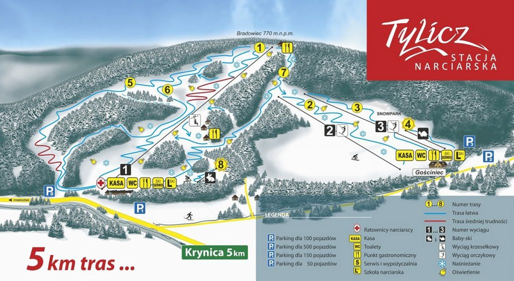 tylicz-ski-mapa